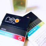 グロー(glo)のカプセルメンソール型「neo」をレビュー!味の感想とおすすめ度