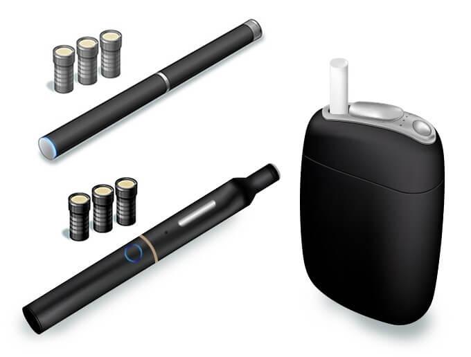 「加熱式たばこ」のイメージ画像
