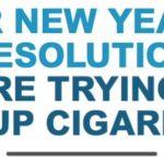 フィリップモリス「タバコをやめる」 新年の抱負を英国新聞広告で発表